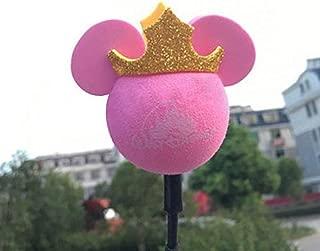 ygmoner Antenna Ball/Cute Antenna Topper/Car Foam Balls (Pink Mickey)