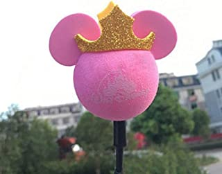 ygmoner Antenna Ball/Cute Antenna Topper/Car Foam Balls (Pink Mickey)