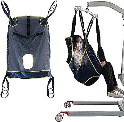 A-Generic Smbitod Harnesa Levantamiento Cuerpo Completo Arnés Completo Vida de los Pacientes Bariátrico Expresión Cuerpo Completo Cinturón de Transferencia médica para discapacitados
