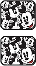 Mickey Mouse Classic Expressions Faces Rear Seat Utility PlastiClear Floor Mats - PAIR