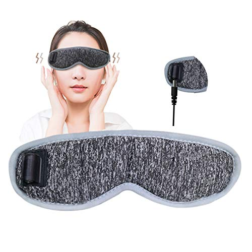 ホットアイマスク USBアイマスク アイウォーマー 蒸気 繰り返し 目の疲れ 安眠 軽量 通気性