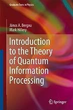 مقدمة إلى معلومات Theory من Quantum المعالجة (Graduate texts في الفيزياء)