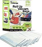 Smart Storage 10 Pzi Rolling Case Bags Variedad Pack Bolsas de vacío y Bolsas...