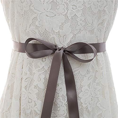 Cintura para mujer Cadena de cintura Accesorios de vestido de novia para mujer Rhinestones de plata Novias de novia Accesorios para el banquete de fiesta Cinturón de vestir Para la decoración de vesti