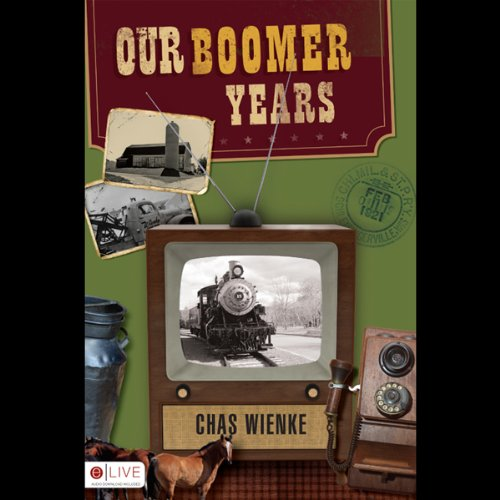 Our Boomer Years audiobook cover art