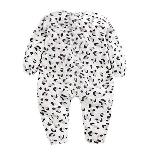 Livoral Baby Winter Jacke Kleinkind Baby Boy Print Dicke warme Flanell Baby Schlafsack Overall Kleidung(F,3-5 Jahre)