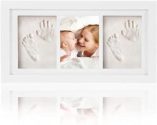 Geburt /& Taufe #1 CHSEEA Baby Handabdruck und fu/ßabdruck Mit Bilderrahmen Baby-Abdr/ücke Set Baby Erinnerungen Baby-Schatzk/ästchen Andenken Set ideale Babygeschenk zur Babyparty
