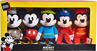 Mickey's 90th Anniversary Limited Edition 5 piece Collector's Plush Set