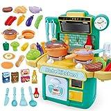Lihgfw Kinderküche Spielzeug-Set Baby-Simulation Kochen Kochen Küchenutensilien Jungen und...