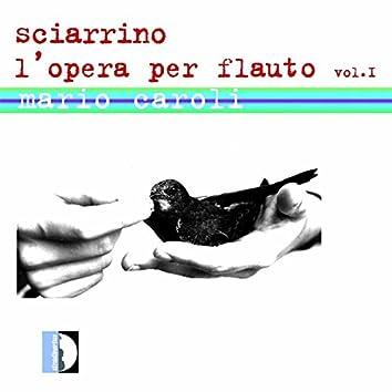 Sciarrino: L'opera per flauto, Vol. 1