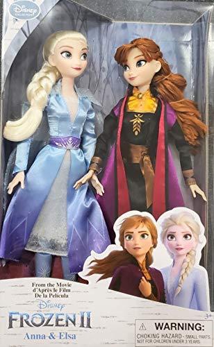 Disney Frozen 2 Anna & Elsa Doll Set