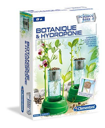 Clementoni- Science & Jeu-Botanique et Hydroponie, 52347,...