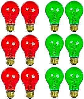 Best incandescent christmas lights replacement bulbs Reviews