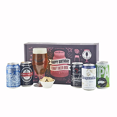 Beer Hawk Happy Birthday Beer Selection Box