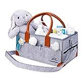 HadleyReese Baby Diaper Caddy Organizer (15 x 10 x 7 Inch) - Large