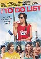 To Do List [DVD] [Import]