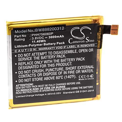 vhbw Akku passend für Blackview BV6000, BV6000S Handy Smartphone Handy (3000mAh, 3.8V, Li-Polymer)