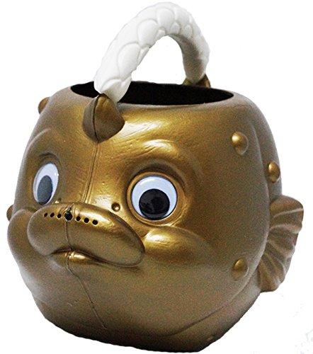 koenig-tom Giesßkanne Fisch Kanne Sandkasten Spielzeug (Gold)