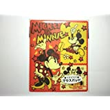 ディズニー ミッキー&ミニー 光学式対応 マウスパッド ①