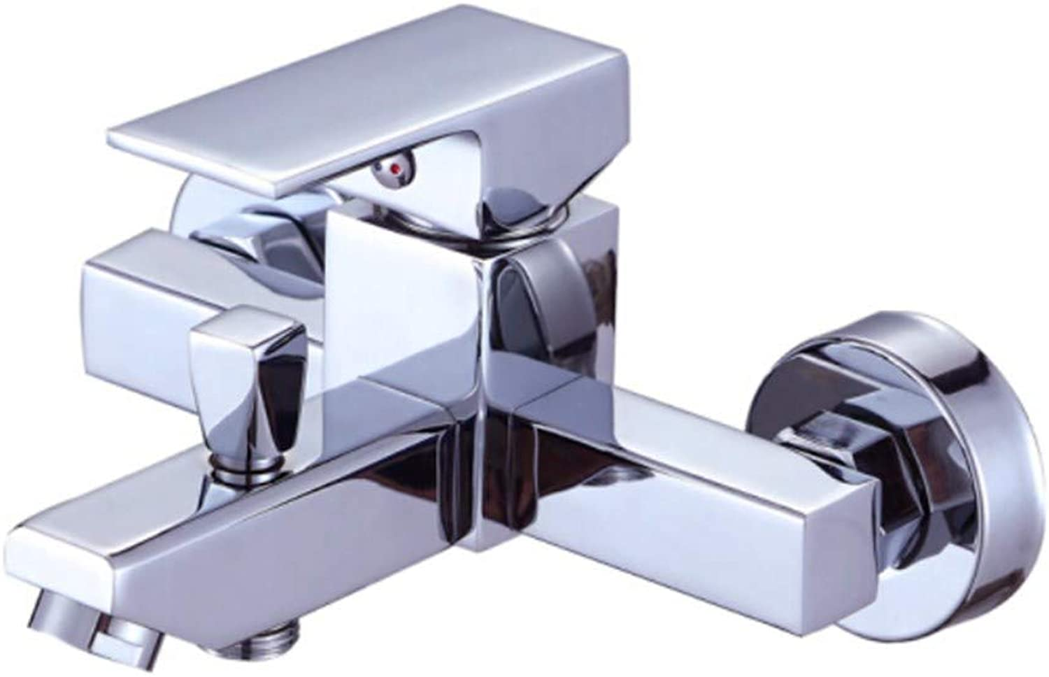 Kitchen Sink Taps Bathroom Taps Sanitary Bath Triple Cold and Hot Shower Faucet Concealed Mixed Valve Bathtub Faucet