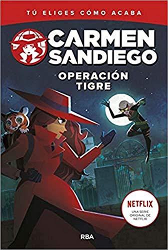 Carmen Sandiego 3. Operacin tigre (FICCIN KIDS)