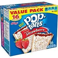 Kellogg's Pop-Tart ケロッグフロストストロベリーポップタルト16 枚入り  並行輸入品