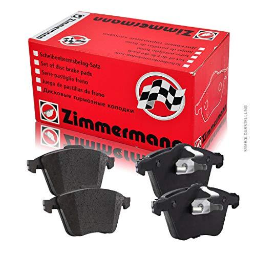 ZIMMERMANN 23926.170.2Serie Bremsbeläge, vorne, inklusive Platte dämpfend