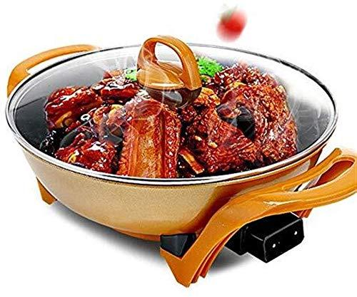 NBHUYT 1350 W Elektrische grill, anti-aanbaklaag, multifunctioneel, elektrisch, koken, pan, machine, griller