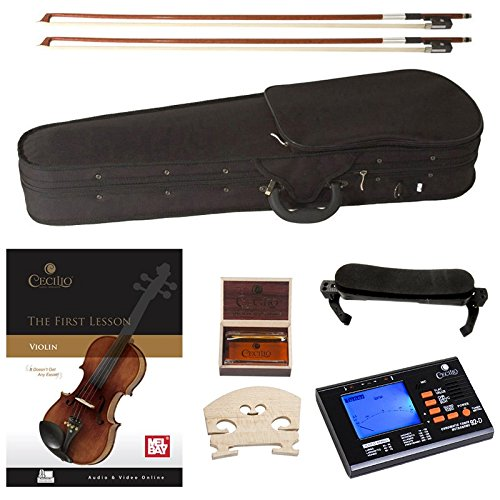 Cecilio Violin For Beginners - Beginner Violins Kit For Student...