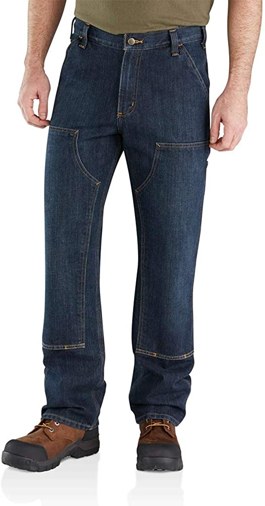 Carhartt mens Purchase Relaxed Fit Free Shipping Cheap Bargain Gift Holter Dungaree Double-front