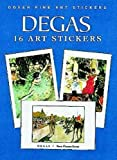 Degas: 16 Art Stickers (Dover Art Stickers)