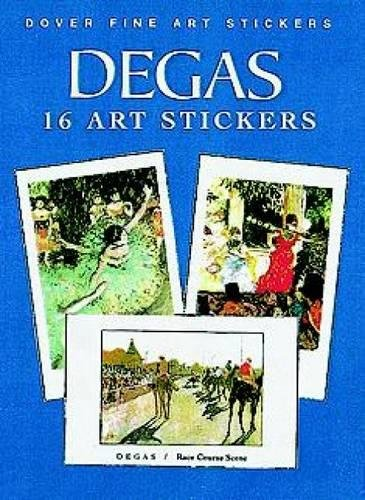 Degas: 16 Fine Art Stickers: 16 Art Stickers (Dover Art Stickers)