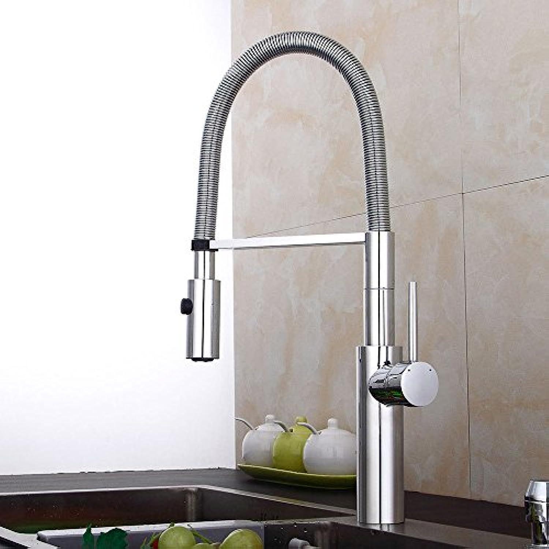 LaLF Europischer Wasserhahn Küchenarmatur 360 Grad Waschbecken Wasserhahn Frühling Heies Und Kaltes Wasser Wasserhahn Einzigen Handgriff Einlochmontage