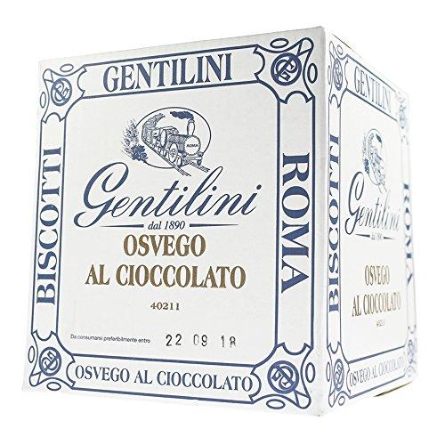 Gentilini Cartone biscotti Osvego al Cioccolato 3,5.kg. (14 confezioni da 250gr.)