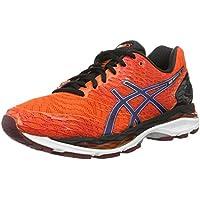 Asics Gel-Nimbus 18, Zapatillas de Running Para Hombre, Naranja (Flame Orange/Black/Silver), 45 EU
