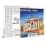 Smartbox - Caja Regalo - Roma en 3 días - Idea de Regalo - 2 Noches con Desayuno para 2 Personas