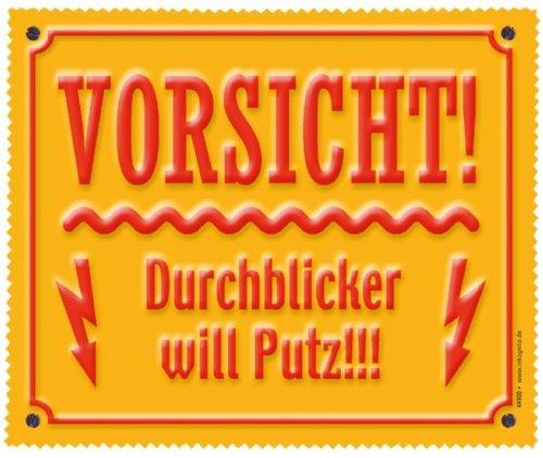 Brillenputztuch 18 x 15 cm • 44900 ''Durchblicker'' von Inkognito • Künstler: INKOGNITO © Tetsche