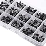 600Pcs 15 tipi Transistor misti TO-92 Assortment Transistor Box Kit...