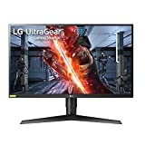 LG 27GN750-B Ultragear - Monitor Gaming (Panel IPS: 1920x1080p, 16:9, 400 CD/m虏, 1000:1, 240 Hz, 1 ms, DPx1, HDMIx2, USB-Ax3; G-Sync), Negro