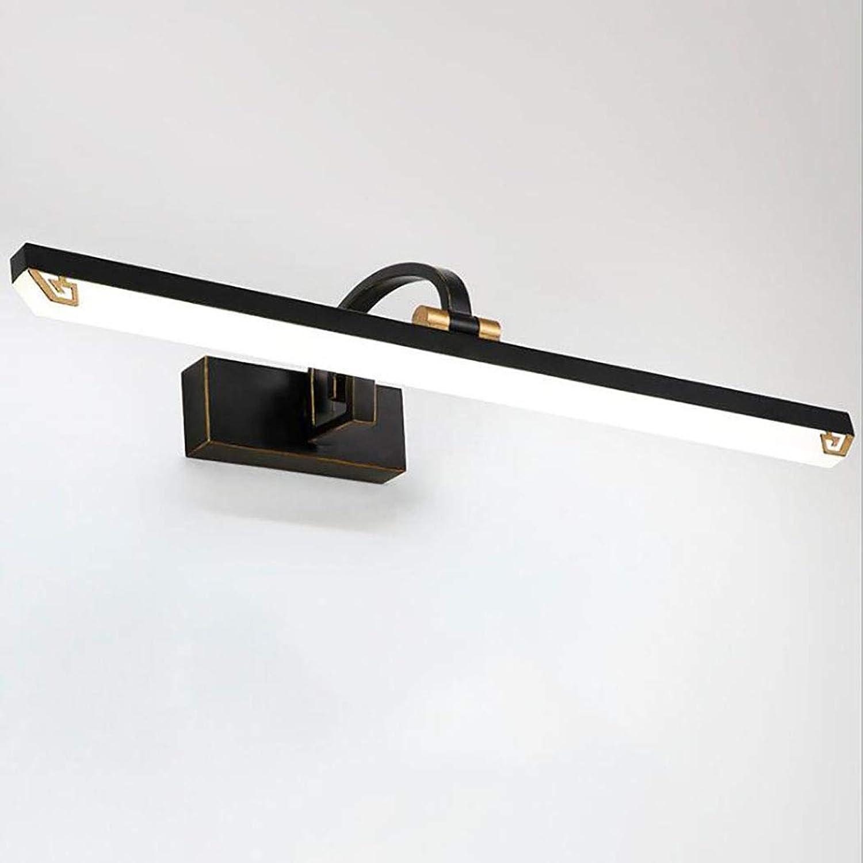 Antike LED-Spiegelfrontleuchte, Badezimmerspiegelleuchte Energiesparende Make-up-Leuchte Wandleuchte Schrankleuchte Acrylwandleuchte