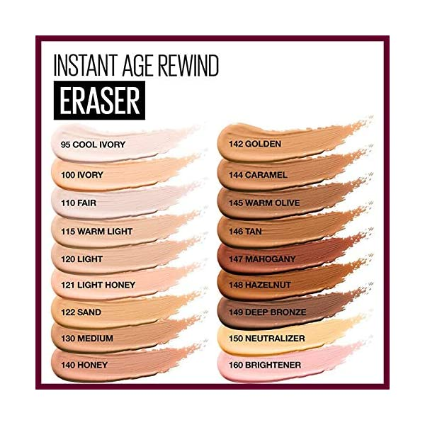Beauty Shopping Maybelline Instant Age Rewind Eraser Dark Circles Treatment Multi-Use Concealer,