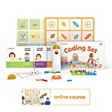 Matatalab Home Edition STEM Robot Activity Toys, Coding Robot for Kids, No APP Needed, Early Programming, Ages 4-9+ Learn to Code