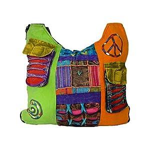 Bolso Largo Multicolor Estilo Hippie para Mujer. | DeHippies.com