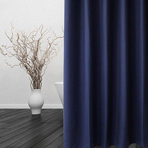 Rideaux de douche Rideaux de séchage rapide Bleu/Beige/Gris/Blanc Salle de bain Imperméable Anti-moule Polyester plus épais avec crochets facile à nettoyer