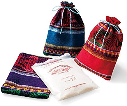 ペルー 土産 アンデスの塩 3袋セット (海外旅行 ペルー お土産)