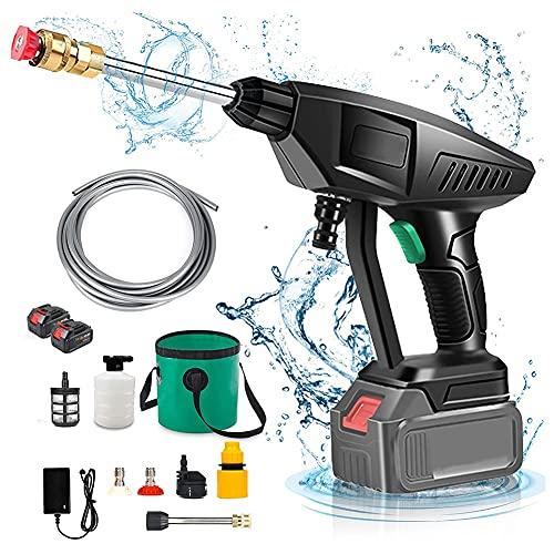 HYFDGV Idropulitrice Portatile Ad Alta Pressione Mini Kit per Lavatrice Portatile Mini Pressione con Batteria per la Lavatrice per la casa, Fiori annaffiato, Pavimenti per la Pulizia Idropulitrici