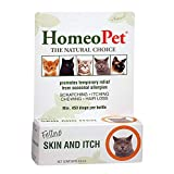 HomeoPet Feline Skin and Itch (Packaging may vary)