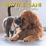 Calendario 2021 Gatti e Cani: Regalo