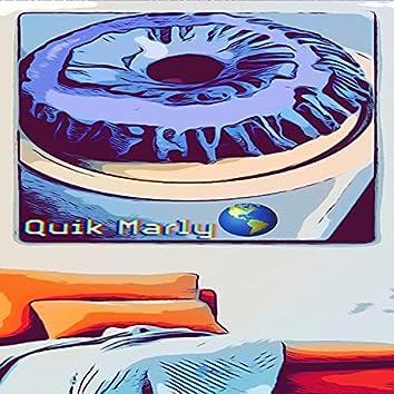 Blue Pound Cake