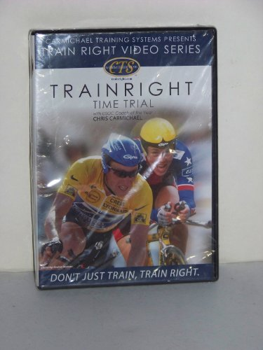 DVD Train Right Time Trial Cycling with Chris Carmichael Bicycle Sports